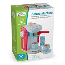 kaffeemaschine kinderküche holz spielzeug 9 teilig kaufladen kinderküche spielküche zubehör