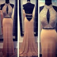 prom dress backless prom dress long prom dress 2 pieces
