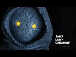 wars jawa lawn ornament exclusive thinkgeek