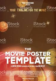 movie poster template stock vector art 871339574 istock