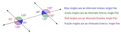 Alternate Interior by Alternate Interior Exterior Angles Solutions Exles