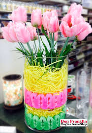 Candy Vases Centerpieces Ben Franklin Crafts And Frame Shop Monroe Wa Easy Diy Easter