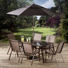 Pagoda Outdoor Furniture - pagoda inca promotional garden table 6 chairs and parasol brand