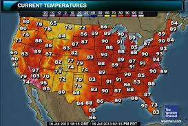 Weather Map New York d c heat wave 2013 10 red maps the washington post