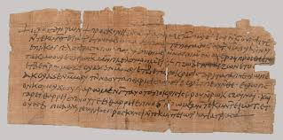 linen writing paper papyrus in ancient egypt essay heilbrunn timeline of art papyrus fragment of a letter from victor to psan