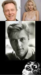 Christopher Walken Memes - young christopher walken or scarlett johansson www meme lol com