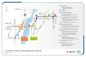 Wisconsin Road Construction Map by Project Overview U2013 Wis 441 Tri County Project