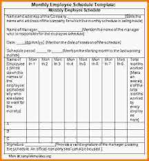 monthly scheduling template monthly employee schedule template jpg