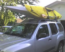 nissan titan kayak rack who drives a xterra for biking mtbr com