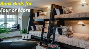 Four Bunk Bed Bunk Beds For Four Or More