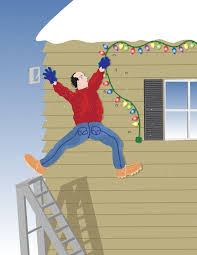 hanging christmas lights tradition or tragedy christmas light safety tips your