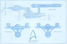 star trek blueprints uss enterprise 15mm fasa deck plans