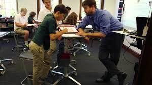 Weight Loss Standing Desk Students Using Standing Desks To Learn Cnn