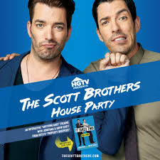 property brothers drew and jonathan scott throwing a u0027house party