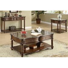 three piece table set 3 piece coffee table set coffee table