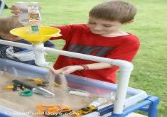 diy sand and water table pvc amazing sand table ideas diy sand and water play table home design