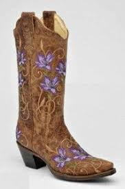 womens boots purple womens cowboy boots leather rhinestone rodeo