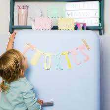 Kids Room Letters by Letter Banner A Little Lovely Company