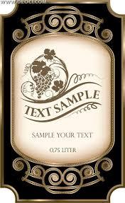 wine label templates custom design wine label template word excel
