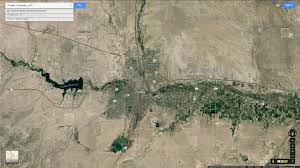 Colorado Google Maps by Google Map Pueblo Colorado Google Map Of The United States