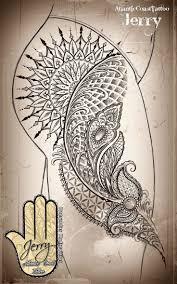 tattoo on thigh ideas best 25 mandala thigh tattoo ideas on pinterest mandala tattoo