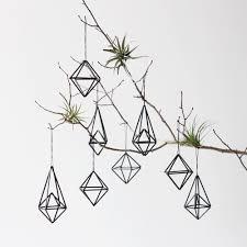 himmeli ornament set of 8 modern hanging mobile geometric
