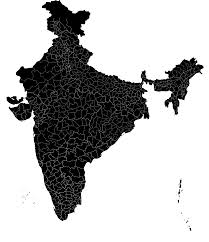 lime silhouette file official india map with districts 2011 census svg wikimedia