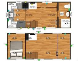 Tiny House Plans On Wheels 160 Sq Ft Birchwood Tiny House On Wheels