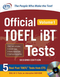 toefl ets guide cd official toefl ibt tests volume 1 2nd edition ebook by