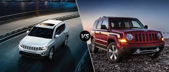 jeep lineup 2016 jeep compass vs 2016 jeep patriot
