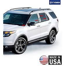 ford explorer trim amazon com made in usa 2011 2017 ford explorer 8pc w mirror