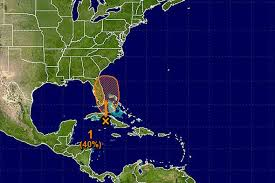 caribbean weather map is hurricane nate forming in the caribbean area of low