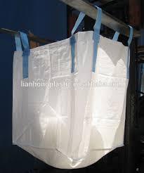 large plastic grain storage pp big bag 2 ton food packaging woven