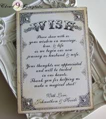 wishing tree cards wedding wishing tree tags