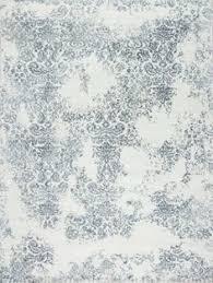 White Modern Rug Modern Tibet 3 Drops Samad Made Carpets Rug