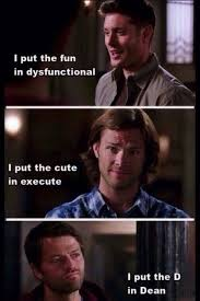 The D Meme - 30 supernatural memes that prove we all watch too much tv