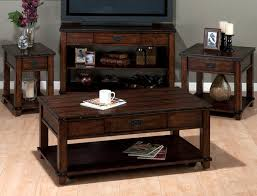 jofran 561 4 plank top sofa table w drawer 2 shelves dark