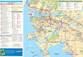 Canada City Map by Vancouver Maps Canada Maps Of Vancouver