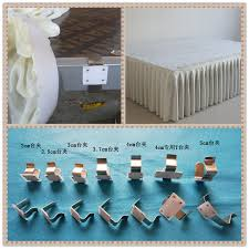 table skirt clips with velcro t clip table skirt clip stainless steel table clip withandfixed