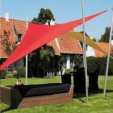 Triangle Awning Canopies New 20 U0027x20 U0027x20 U0027 Triangle Outdoor Sun Sail Shade Canopy Cover Red