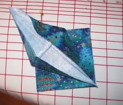magpie shinies no sew fabric origami crane ornaments tutorial
