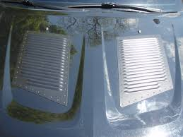 Hood Vents Campbell Police Department Size Large Louvers Hood Louvers