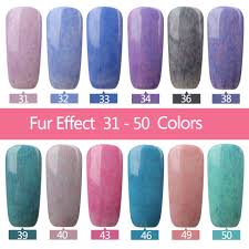 aliexpress com buy 2017 latest fur effect nail gel uv gel nail