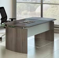 Cool Modern Desk Medina Series 63 Gray Steel Finished Modern Desk Mnd63lgs