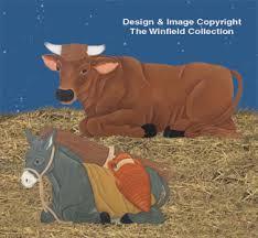 nativities nativity cow woodcraft patterns