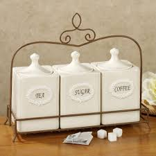 kitchen amazing kitchen jars and canisters 3 piece canister set