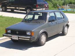 volkswagen rabbit 1982 volkswagen rabbit l this rabbit painted in