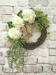 wedding wreaths how to create a beautiful living floral grapevine wreath front