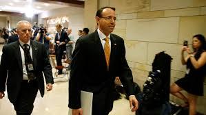 deputy us attorney general rod rosenstein u0027s congressional