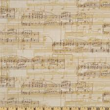 Music Home Decor by All That Jazz Musical Montage Grey Accent Colors Fabrics And